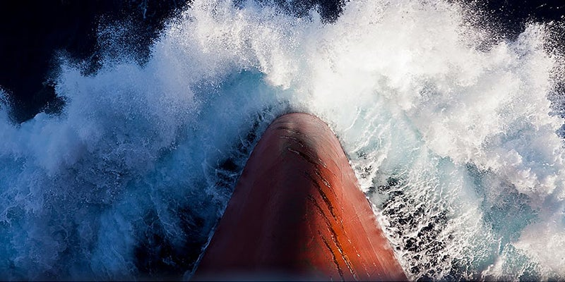 The dangerous, unpredictable, risky, volatile world of commercial shipping