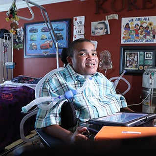 Franciscan Children's did more than help save Korey's life—it found him a home