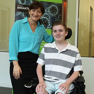 Dear scientist, Duchenne muscular dystrophy stole my ability to walk, but hasn't slowed me down