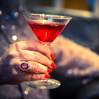 Cheers to glamour: How and when to wear cocktail rings