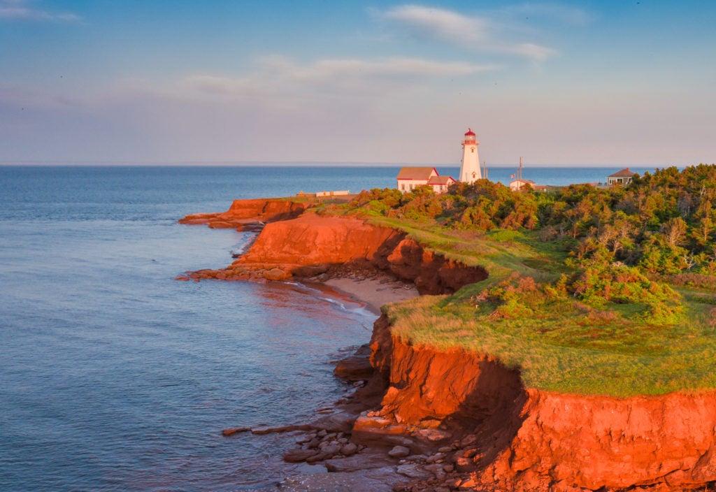 The bold reds of Prince Edward Island